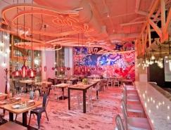 華盛頓China Chilcano中餐廳室內設計