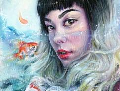 Tanya Shatseva肖像插画作品欣赏