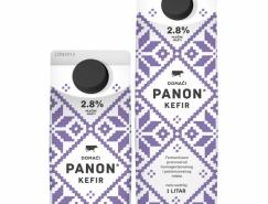 PANON牛奶包装设计