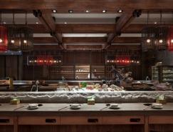 上海齐民有机火锅餐厅室内空间设计