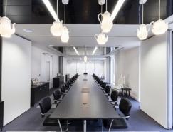 伦敦Waterloo服务式办公室空间设计