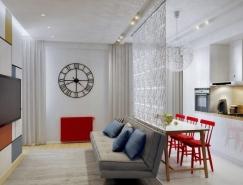 3个50平米时尚创新的小公◆寓