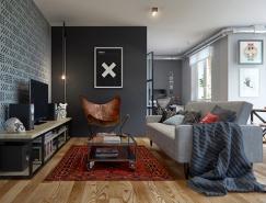 明斯克精致小户型公寓设计