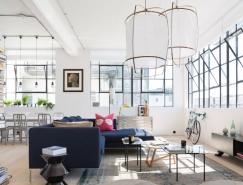 旧厂房改造简约工业风格loft公寓