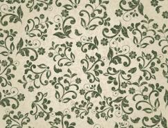 复古花纹无缝背景矢量素材(5)