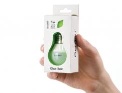 Geniled灯泡包装设计
