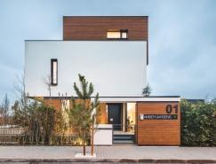 罗马尼亚琥珀花园简约绿色住宅设计