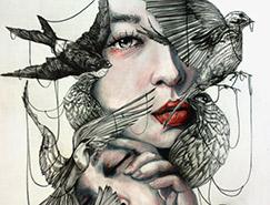 Gaia Alari另类概念肖像插画欣赏