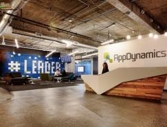 旧金山AppDynamics开放自由的办公空间设计
