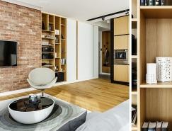 波兰Gdynia优雅精致的89平米公寓设计