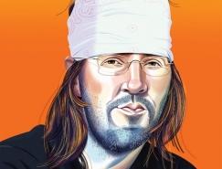 Nigel Buchanan人物肖像插画欣赏