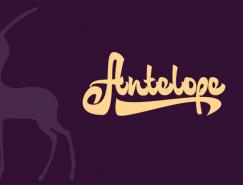 Sasha Chebotarev动物字体logo设计