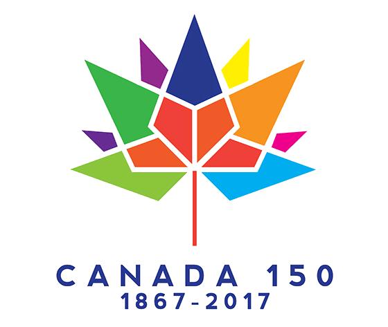 加拿大建国150年标识公布