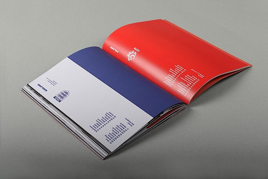 Rabona足球杂志版面设计欣赏(2)