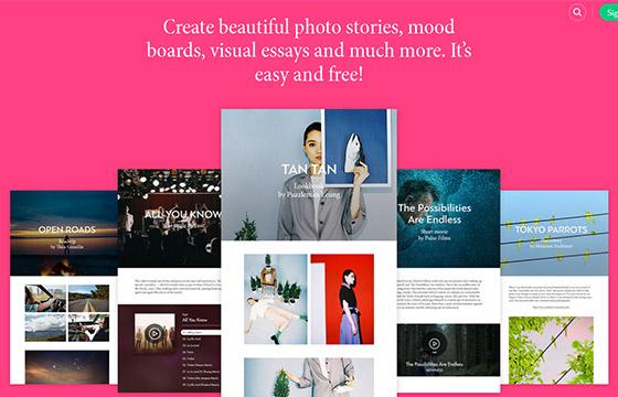 55个精美创意单页面网站设计