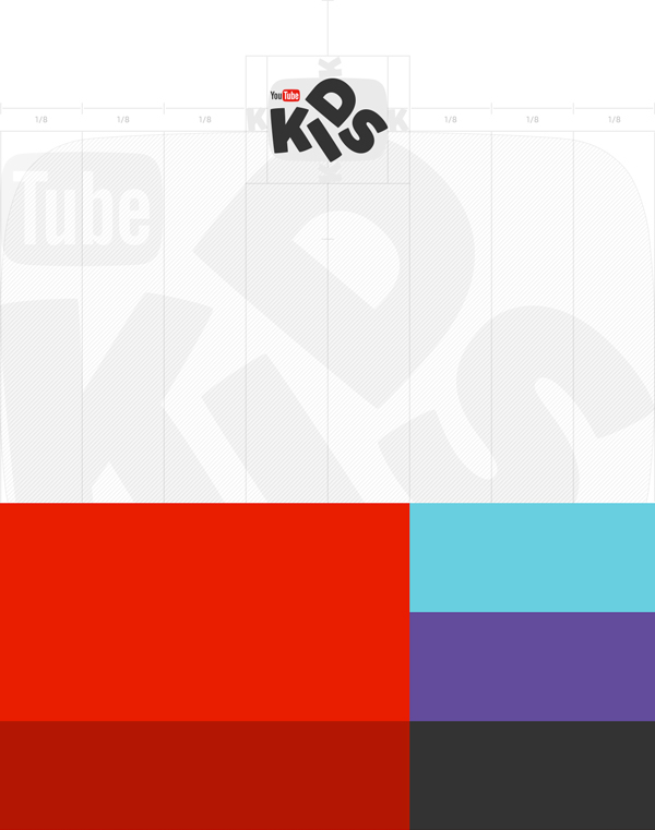 YouTube Kids品牌和UI设计