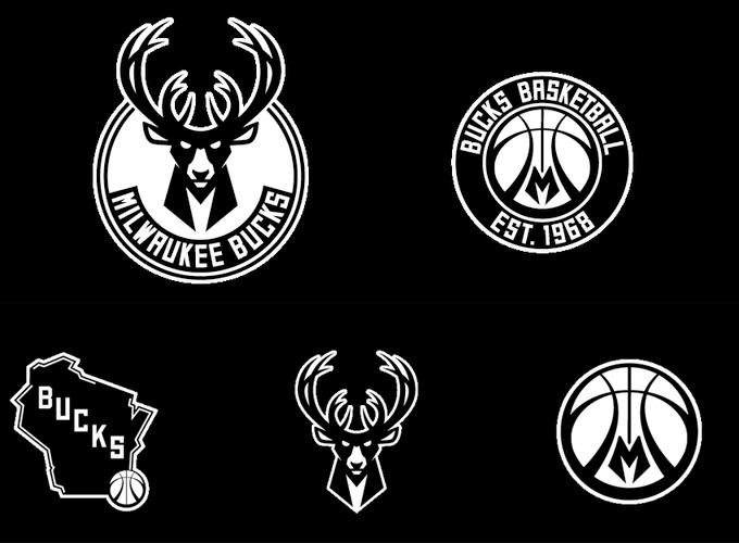 NBA密尔沃基雄鹿队发布新LOGO
