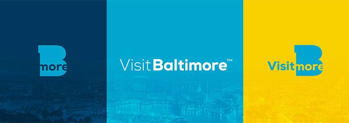 巴尔的摩(Baltimore)启用全新的城市形象logo
