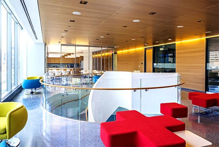 安大略癌症研究所(OICR)实验室空间设计