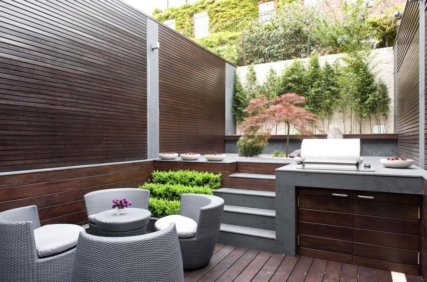 超美小庭院:伦敦Belgravia优雅精致的私人住宅设计