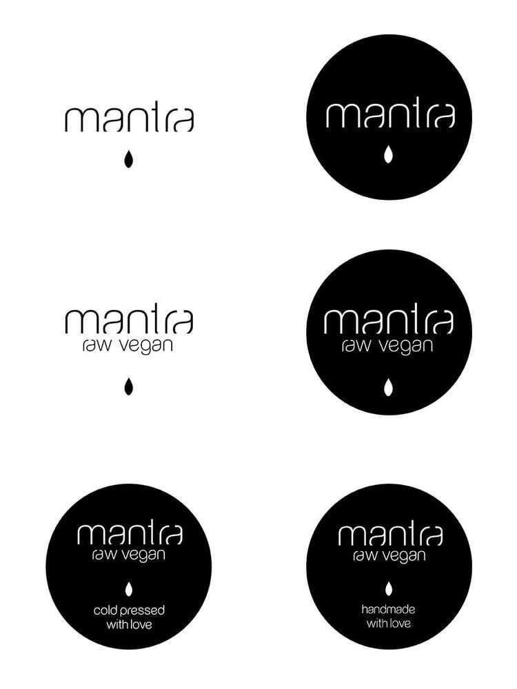 Mantra素食餐厅品牌设计欣赏
