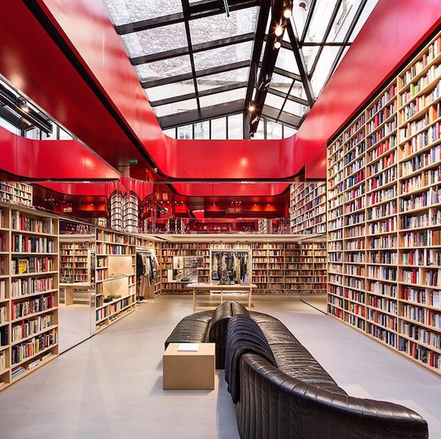 书店还是服装店?Sonia Rykiel巴黎旗舰店设计