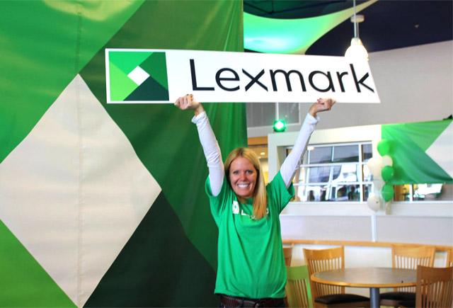利盟(Lexmark)正式启用新LOGO