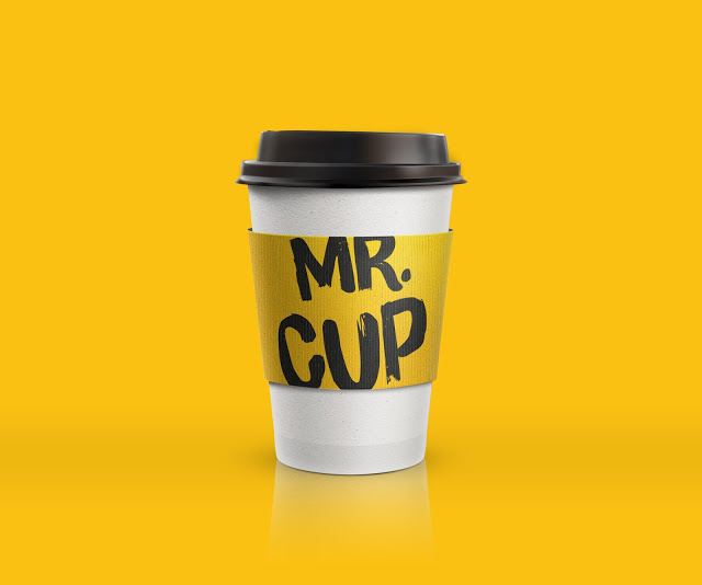 cup咖啡品牌和包装设计 - 设计之家