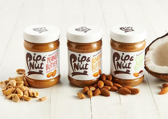 pip & nut坚果和坚果酱包装