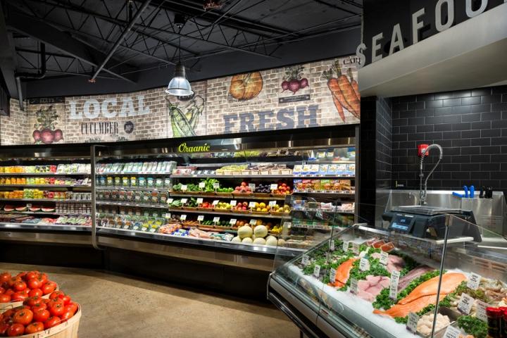 Brothers Marketplace超市室内空间设计