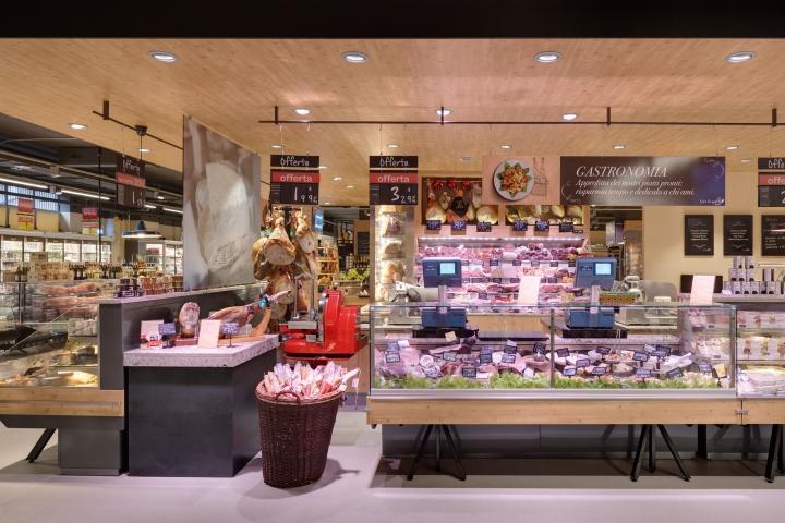 米兰家乐福超市设计