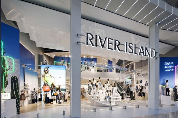英国高街品牌River Island伯明翰旗舰店设计