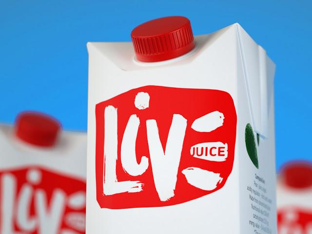 LIVE果汁概念包装设计