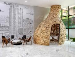 Baya Park鸟巢状销售办公室设计