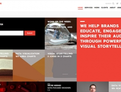 20个使用模块化网格布局的网页设计