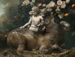 Rafael Ochoa現代感覺的古典繪畫作品
