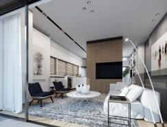 4个漂亮的住宅装修效果图设计