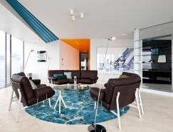 阿拉木图豪华的一居室公寓设计
