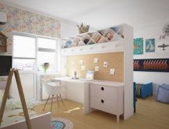 童趣和俏皮風格兒童房設計精選