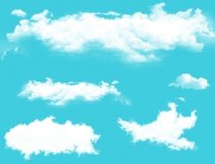 5款白云PSD素材