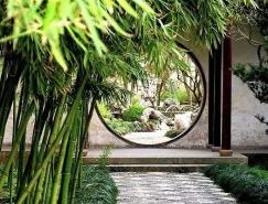 中國園林之洞門