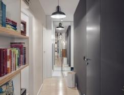 波兰60平米精致艺术感公寓设计