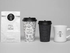 Mill And Bean咖啡烘焙餐廳品牌形象設計