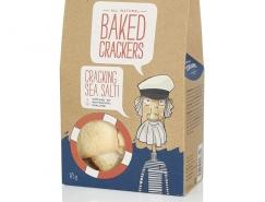 有趣的插画:Dorians饼干牛皮纸环保包装设计