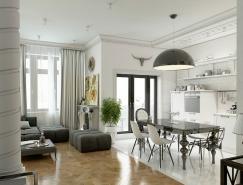 63平米开放式优雅奢侈的公寓效果图皇冠新2网