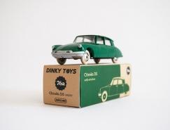 Dinky汽车模型玩具包装设计