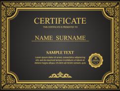 精致的认证和证书模板矢量素材(2)