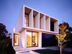 墨尔本Robinson舒适极简的别墅设计