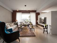 现代与经典混搭:台中165平米简约公寓澳门金沙网址