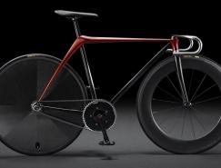 马自达极简动感的魂动概念自行车